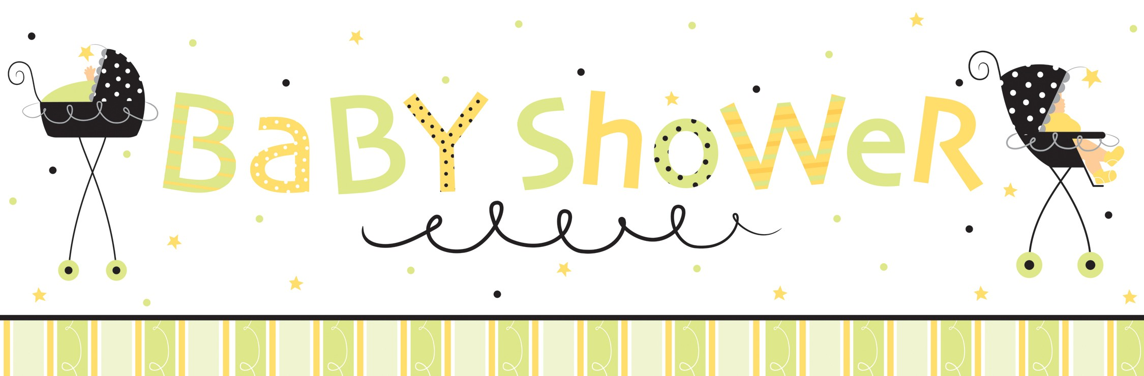 Baby Shower Banner Ideas - Baby Shower Spa