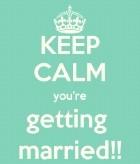 keep calm - Wedding Beauty Preparation in 12 Weeks