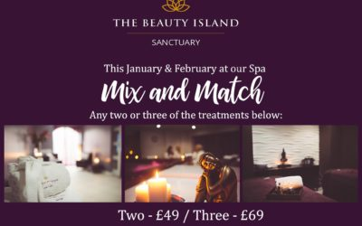 Mix and Match any two or three beauty treatments!