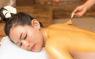 LUXURY GOLD BODY MASSAGE & 24K GOLD BODY peel 60 min £55 – RRP £75