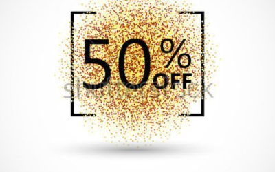 50% OFF COLOUR JANUARY & FEBRUARY 2020