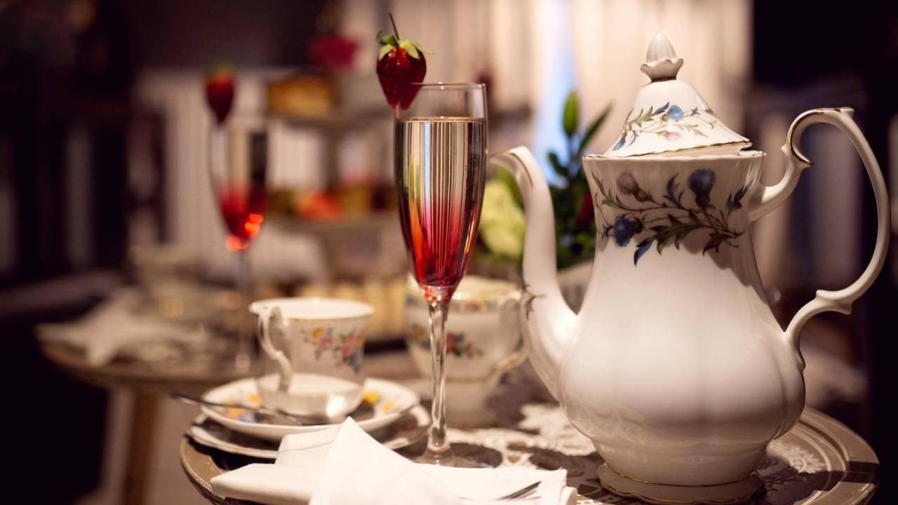 Mini  Vintage Spa Afternoon Tea 2 - Private Spa