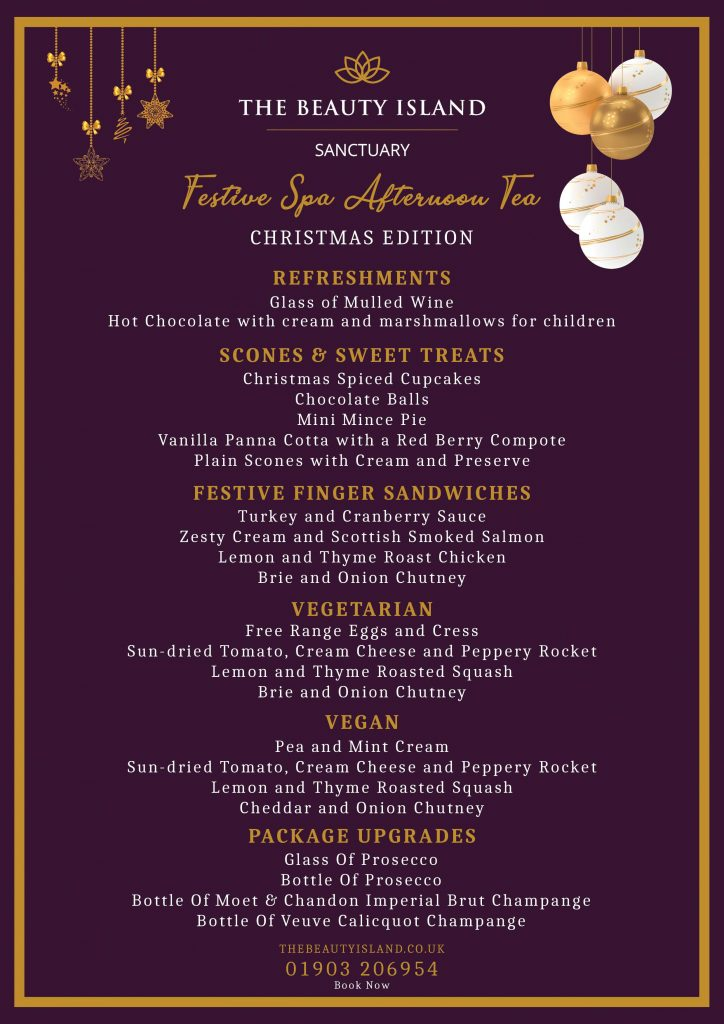 BIS FESTIVE CHRISTMAS 2 1 724x1024 - Festive Spa Afternoon Tea   Christmas Edition Only